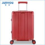 China Factory Price Many Color Aluminium Trolley Bagagem mala média com 4 rodas