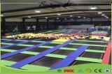 Haltbarer Sprung-Trampoline-Park mit pp.-Matte von USA für Spaß-Spiele