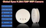 H. 264動きの検出の警報システムが付いている圧縮CMOS IRの夜間視界8GB WiFiの煙探知器IPのカメラ