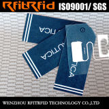 Tag passivo da roupa RFID da escala longa da freqüência ultraelevada 860-960MHz