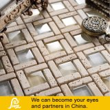 Mosaico di pietra della miscela con di cristallo 8mm