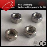 Dispositif de fixation DIN934 DIN936 de noix Hex d'acier du carbone d'acier inoxydable