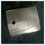 Черный окисляя алюминий для подвергли механической обработке CNC, котор