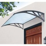 Cobertura de abrigo em policarbonato de policarbonato de alumínio barato para varanda