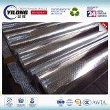 Tissu tissé en aluminium isolé sur toit