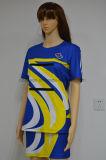Custom Sublimation Sexy Women Team Netball Robes Uniforms Jupes (N009)