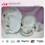 Progettare il piatto per il cliente di ceramica del Dishware del pranzo di stile della Cina