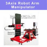 X-y-z de Manipulator van de Afmeting & het Wapen Control Center van de Robot en het het het Roterende Platform van de Werkplaats en Systeem van het Programma + Wapen van de Robot voor het Thermische het Bespuiten van de Deklaag van de Nevel Schilderen