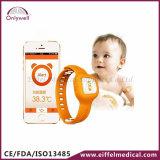 医学の赤ん坊の接触の赤外線デジタル耳で測る体温計