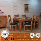 Comedor de madera Sala conjunto de muebles de madera