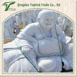 Kalkstein-Schnitzen und Skulptur, im Freiengarten-Hand geschnitzte Skulptur für Verkauf - Maitreya/Sakyamuni/Buddha Statue