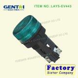 Interruptor de pulsador impermeable terminal del Pin del tornillo principal abovedado momentáneo de Lay5-EV443 12m m