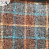 La tela de lino de la tela de la rejilla más de moda para el sofá (FTD31107)