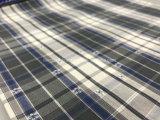 Tela de algodón Jacquard-Lz7740 teñido hilado
