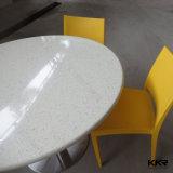 宴会デザインレストランのコーヒー正方形のダイニングテーブル