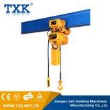 Het hete Verkopende 2ton Elektrische Hijstoestel van de Ketting met Karretje of Haak