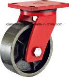 Echador resistente menos adicional modelo del eslabón giratorio del pivote central de América, rueda del hierro