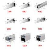 4115, lampe à rayons de profil en aluminium à LED de 8 mm