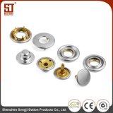 合金の円形の急な方法ズボンの金属ボタン