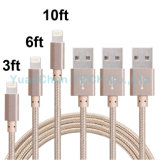 iPhoneの高品質USBデータそして充満ケーブル6 6s