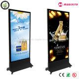 옥외 광고 대 자유롭게 LED 호리호리한 가벼운 상자