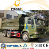 Kipper van de Vrachtwagen van de Stortplaats HOWO van de lage Prijs de Gebruikte 30tons 6X4 met 10 Wielen voor Afirca