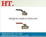 Montaggio maschio d'ottone dell'adattatore della sbavatura del tubo flessibile (1/4 x 1/8)