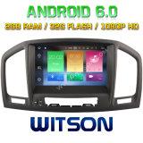 Witson Acht Androïde 6.0 Auto van de Kern DVD voor Opel Insignes 2008-2011