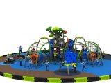 Оборудование спортивной площадки с взбираться страсти и скольжением (YL-D037)