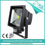 Reichweite 10W 50W LED zum Flutlicht mit PIR Bewegungs-Fühler