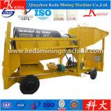 Trommel do equipamento de mineração do ouro do Placer