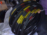 Alta transmissão Wrapped V Belt para Auto Engine High Efficency
