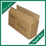Caixa retangular luxuosa do pacote da caixa de papel