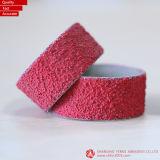 25.4*25.4mm P40, Vsm Ceramisch & Banden van het Zand van het Zirconiumdioxyde de Spiraalvormige voor het Houten Oppoetsen