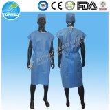 SMS geduldiges Kleid mit blauer Farbe, Berufslieferant