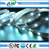 Certificado CE SMD 5050 RGB LED cinta con color puro