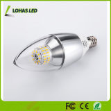 세륨 RoHS UL를 가진 Dimmable E12 E14 E27 3W 5W 6W 7W LED 초 전구