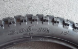 6pr verdoppeln Sport-vordere Rückseite 2.75-18 der 3.00-18 Motorrad-Gummireifen