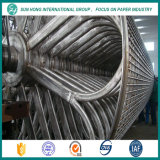 Molde de cilindro de acero inoxidable de la pieza de máquina de papel
