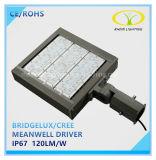 루멘 150lm/W를 가진 최고 밝은 IP67 LED 가로등 150W