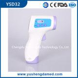 Thermomètre infrarouge de non contact de front de vente de matériel de canon de bébé chaud de forme
