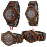 Het manier Gemengde Horloge van het Sandelhout van de Kleur