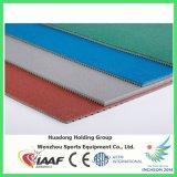 Premier couvre-tapis de base en caoutchouc de plancher de cour de volleyball d'EPDM, cour de sport