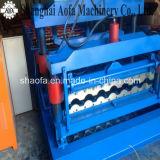 Roulis en Acier de Plaque de Panneau de Tuile de Toit de Couleur de Matériaux de Construction Formant Faisant la Machine