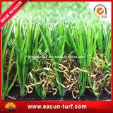 Gramado artificial da grama da forma de U para ajardinar o jardim e a HOME