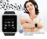 Телефон wristwatch вахты Gt08 Bluetooth франтовской с вахтой гнезда для платы SIM и здоровья NFC франтовским