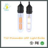 Lampe en verre de néodyme d'ampoules de filament de Stoele T10/T30 Edison DEL