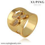 축하를 위해 도금되는 금에 있는 13551의 형식 넓은 큰 반지