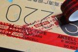 Bande vide ouverte d'emballage de bande de cachetage de carton de haute sécurité