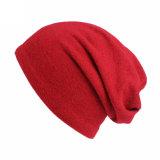Beanie Slouchy mou de crâne de chimio de Hip-Hop de chapeau ample unisexe du Jersey de chimiothérapie de chapeau de femmes d'hommes (HW800)